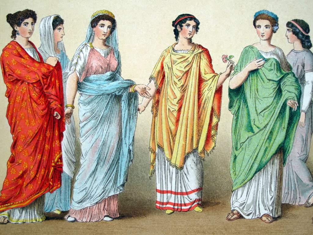 Risultati immagini per ABITI DA SPOSA Antica grecia